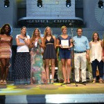 Grupo EM Baloncesto Leganés pregoneros de lujo en las Fiestas de Leganés 2015