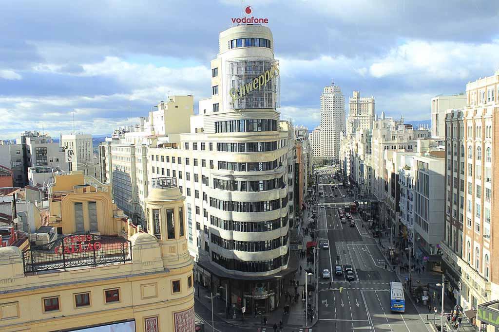 Campaña de limpieza viaria en Madrid