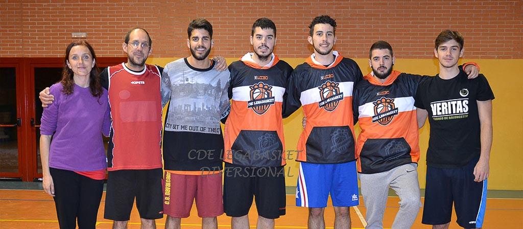 Legabasquet equipos de baloncesto federados leganes