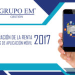 Declaración de la Renta 2017 – Aplicación móvil
