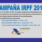 CAMPAÑA IRPF 2016