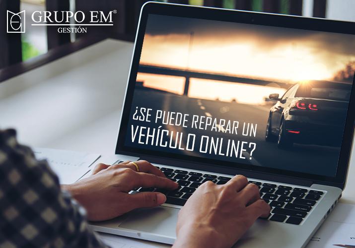 se puede reparar un vehículo online