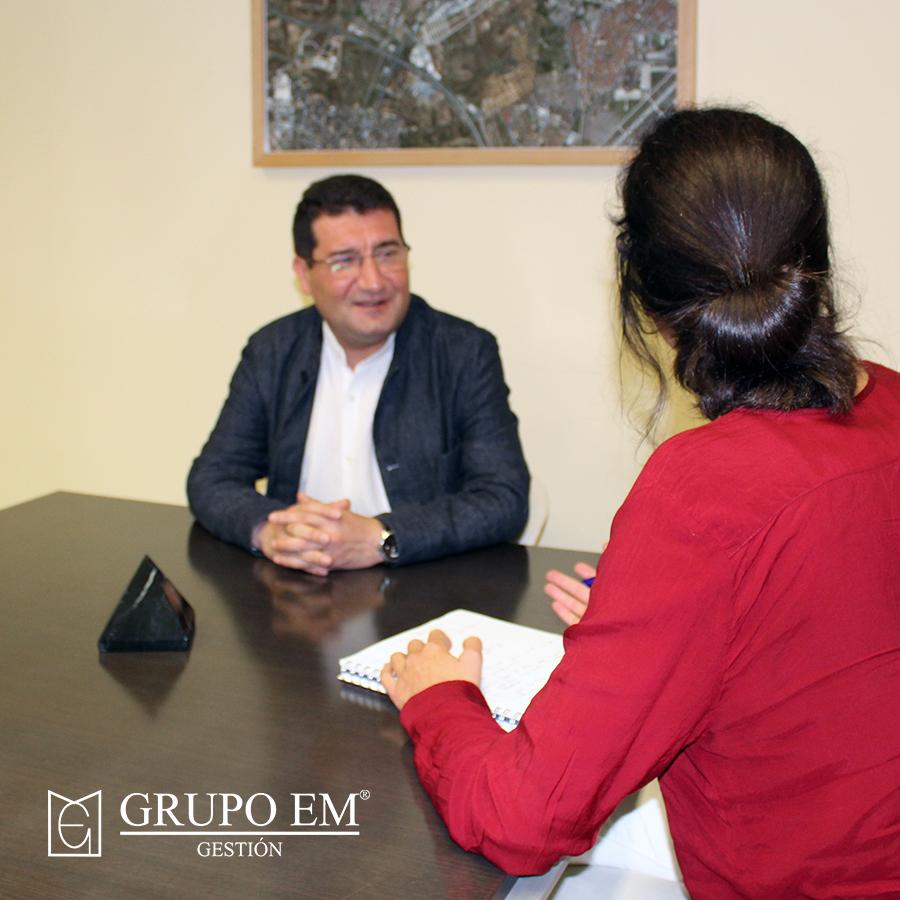 El Inmobiliario de Leganés ha entrevistado a Pedro Atienza, concejal de Hacienda de Leganés