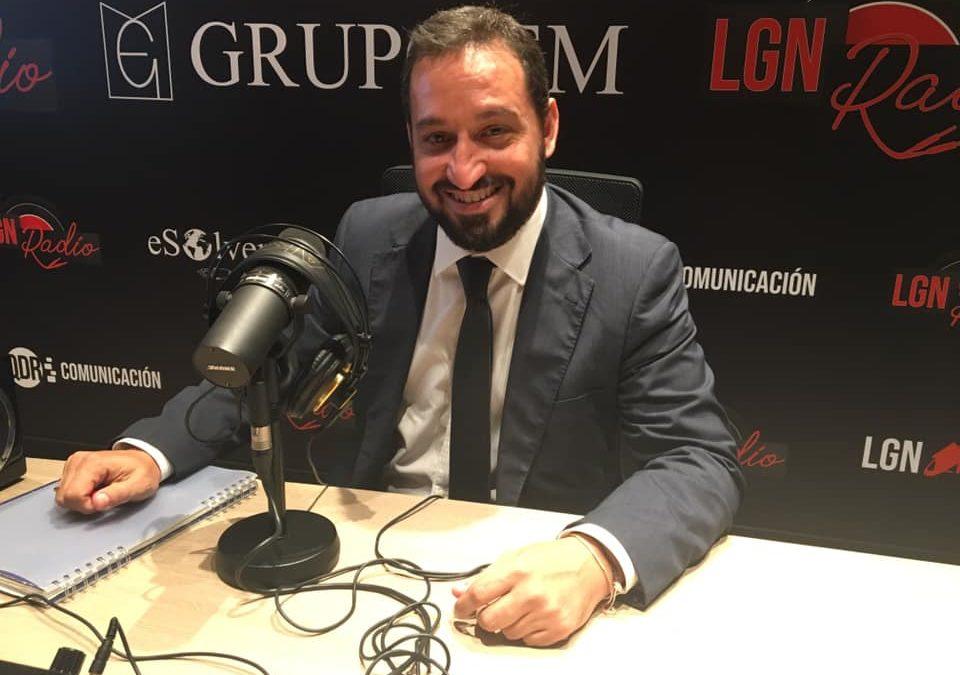 Mario Maldonado en LGN Radio