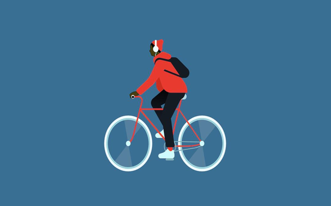 Soy autónomo y voy en bici, ¿puedo desgravármela?